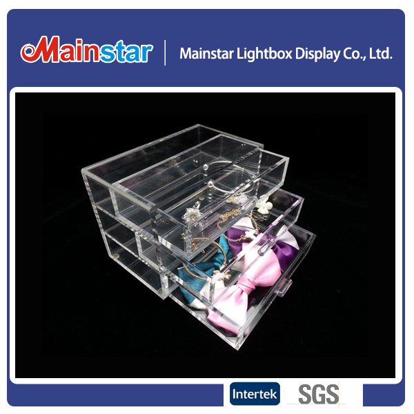 MS-AD006/acrylic make up organizer